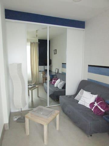 Petit studio tout équipé, proche cité de la voile - Lorient - Apartment