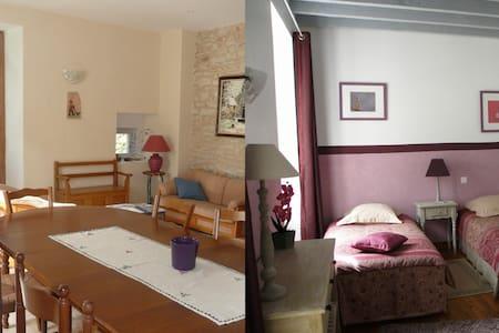 Chambre d'hôte dans un joli village - Hostun - Bed & Breakfast