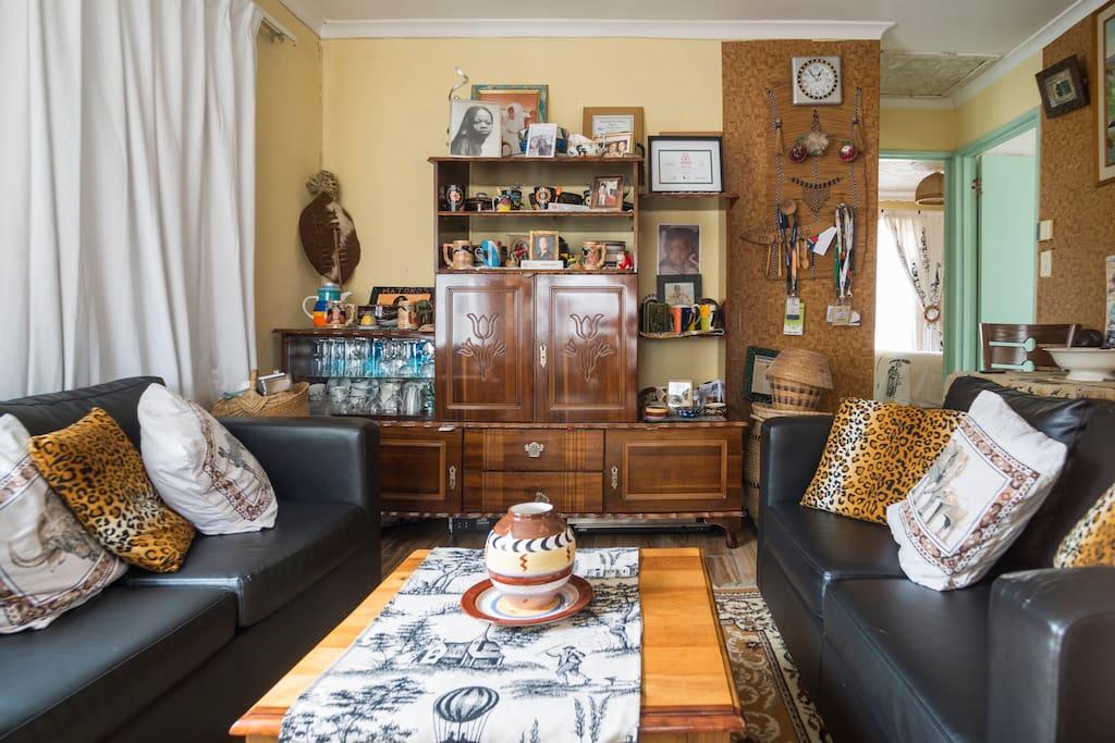 Friendly living room