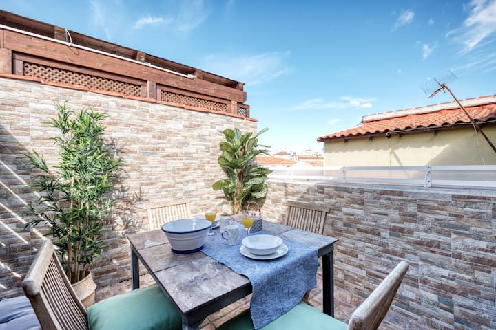 NEW Penthouse & terrrace 2 min. from Plaza Mayor