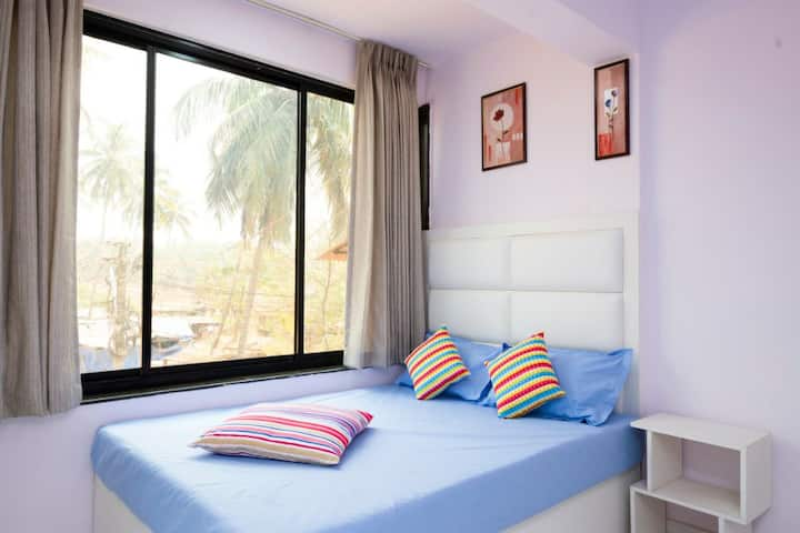 Ansh vansh Beach resort family room calangute goa