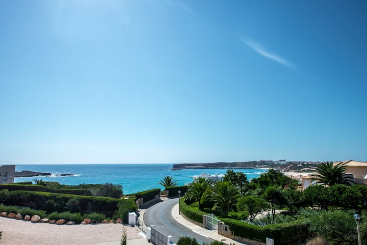 Villa Ocean Blue with stunning panoramic views