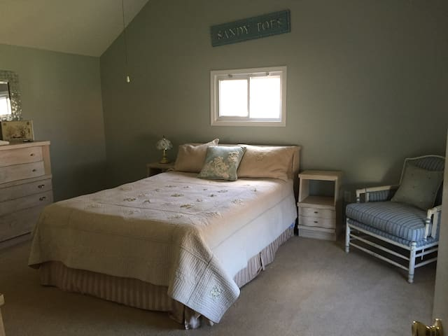 Two beautiful bedrooms private bath - Atlantic Highlands - Casa