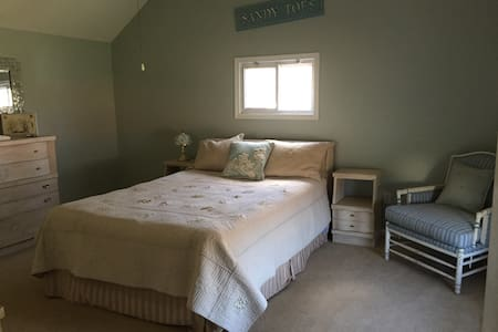 Two beautiful bedrooms private bath - Atlantic Highlands - Hus