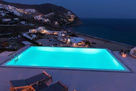 Mykonos Villa Oleandri, Elia Beach - Elia - Villa