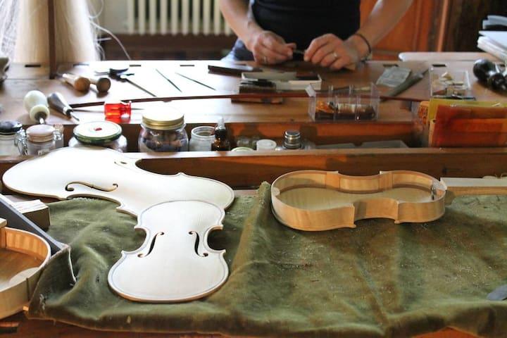 Giornata di costruzione del violino - Cremona - House