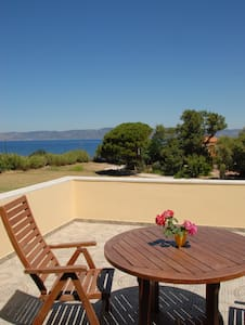 Molyvos Olive Grove Apartments on Etfalou Beach - Mithimna - 公寓