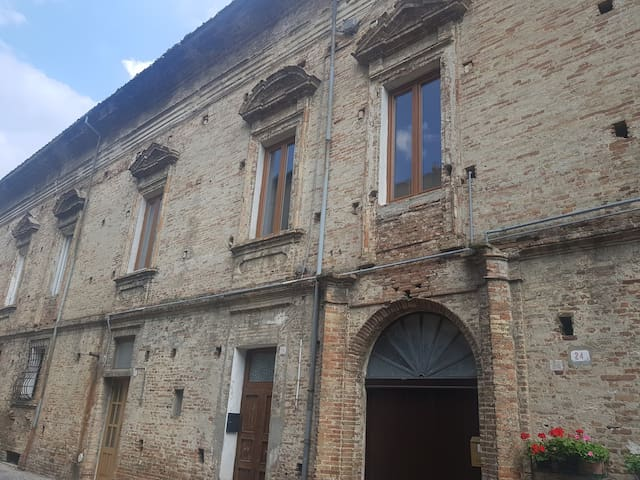 historical house in penne