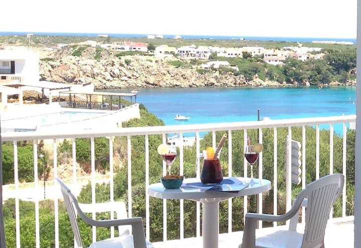 Acogedor apartamento con estupendas vistas al mar