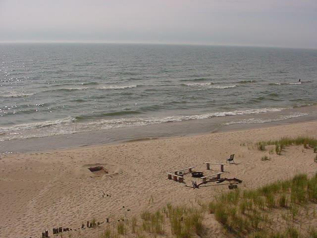 Sunset Beach #5 - Muskegon - Blockhütte