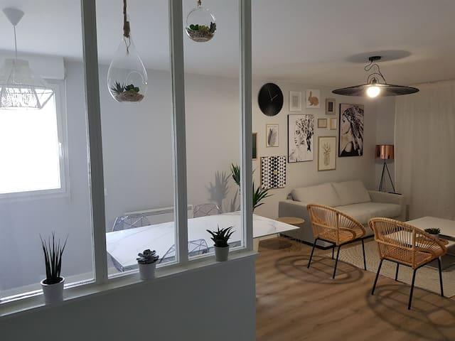 Agréable Appartement Sur Mulhouse