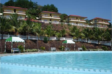 Charming Pool facing 1 BR villa @ Nuvem - Willa