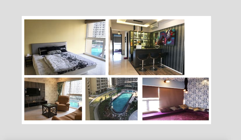 Entire upscale luxury 2,5bhk Apt in Lokhandwala