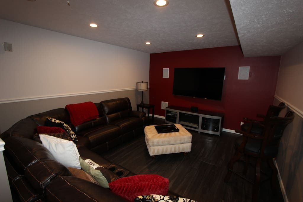 Living room/family room area