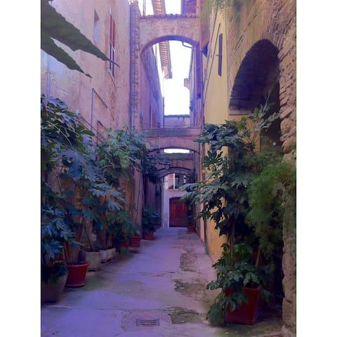 Cieloterra nel centro storico - Bevagna - Casa