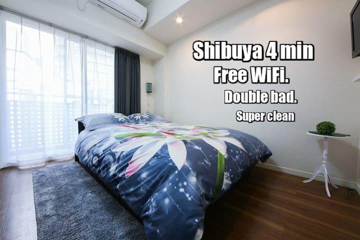 Clean apartment, best location. 4min from Shibuya. - Shibuya-ku - Appartement