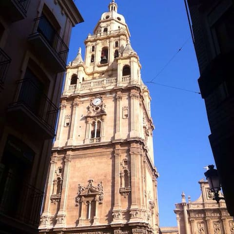 In the center of town, 100 m from the cathedral - Murcia - House