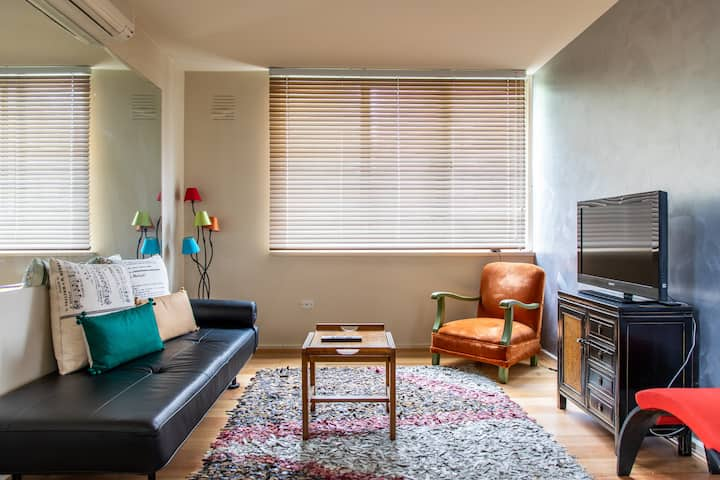 Charming 1BD in Vibrant South Yarra