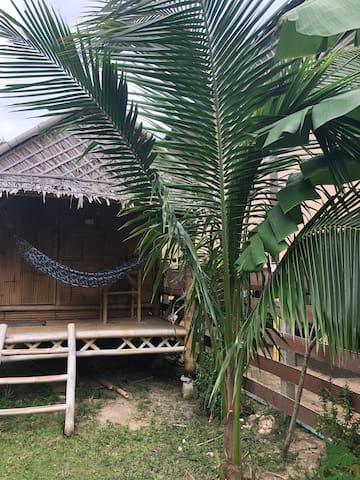 Bamboo hut #R.21