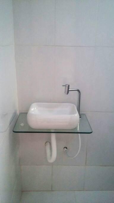 Banheiro Suite Pia