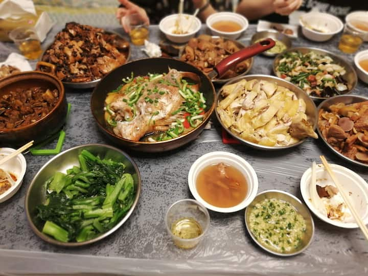 满桌菜  Various Dishes