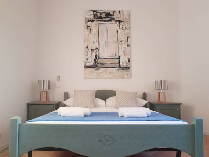 Villa Maremosso Blue room