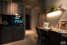 Flat BRYCE: Modern designed Studio