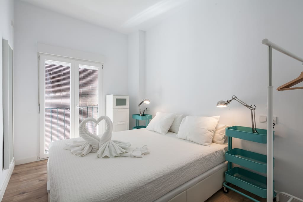 Habitación 1 - cama de matrimonio