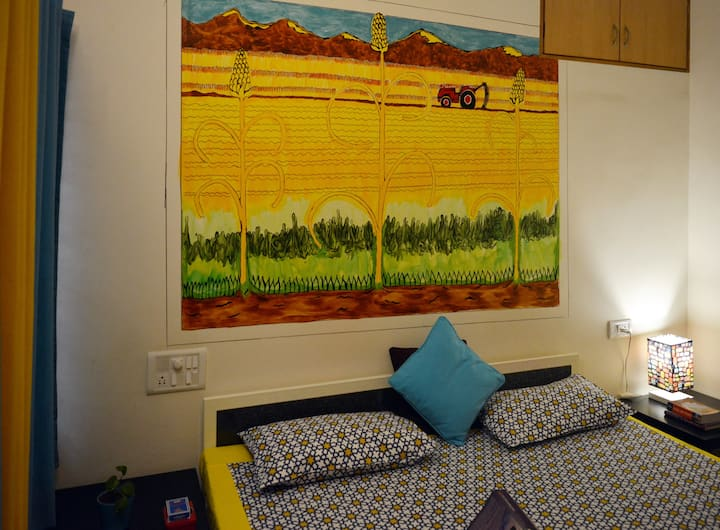 Chirpy Co-Living Space - Private Room - The Farm