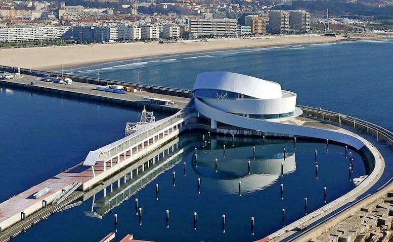 Matosinhos cruise boats arrival. The newest point of atraction in Porto. - 15 minutes away from our apartment.