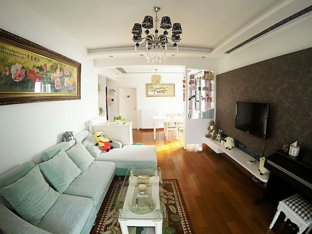 Best location. Private suite for 2. - Wuhan - Wohnung