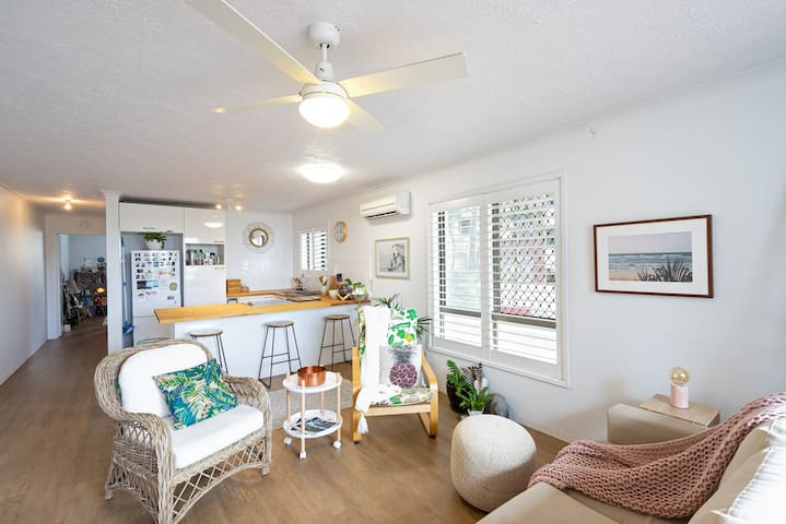 Beach-Front Bliss w/Parking, Free Laundry & more