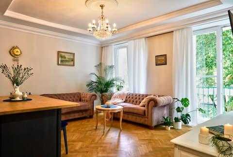 Uroczy Apartament w samym Centrum Lublina