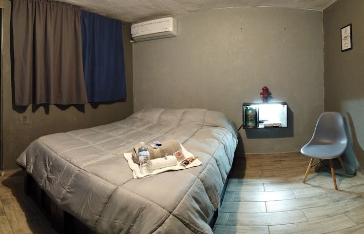 Smart Loft. Private Room with air conditioner.