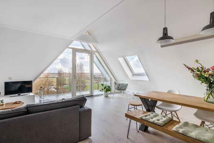 Appartement vlakbij Amsterdam en de Zaanse Schans!