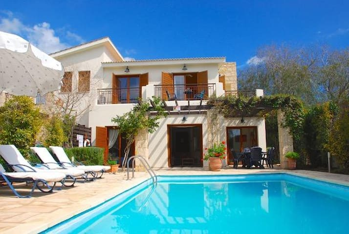 Loukia - Charming villa with private pool.