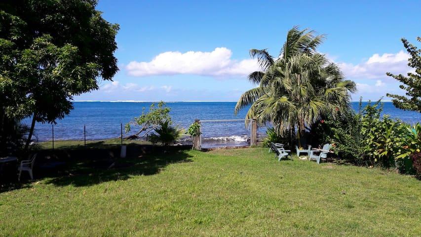 Chambre en bord de mer - Mataiea - House