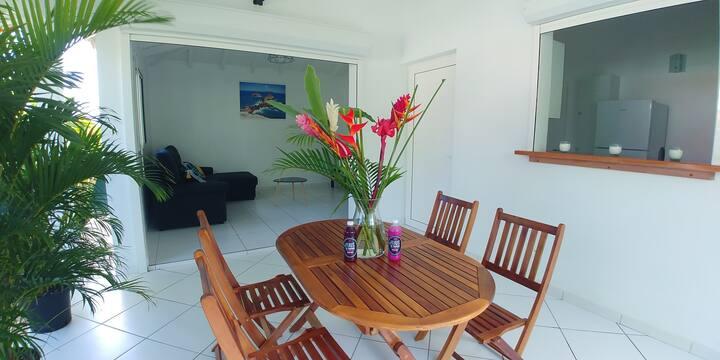 MAY / Maison avec 2 terrasses et piscine privative
