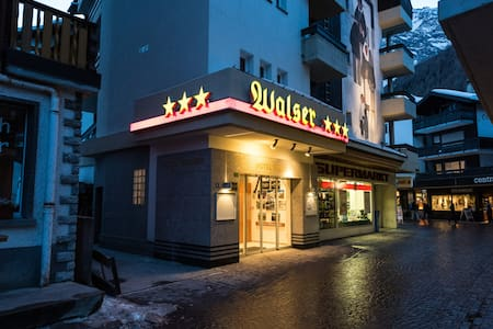 Hostel Walser - Saas-Fee - Haus