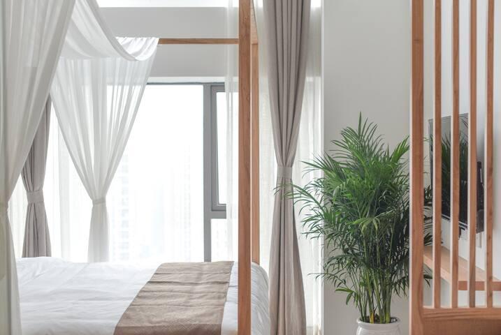 【重庆朴舍】精选loft复式普通大床房(2)