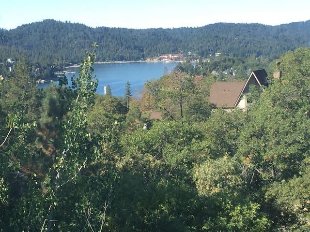 Lake Arrowhead mountain chalet