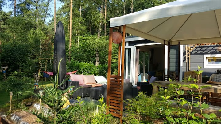 Huisje Heuvelrug: paradijs midden in het bos