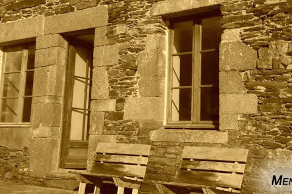 Men Treuz, gîte dans lequel est située Ruz   ///   Men Treuz, cottage where Ruz is located