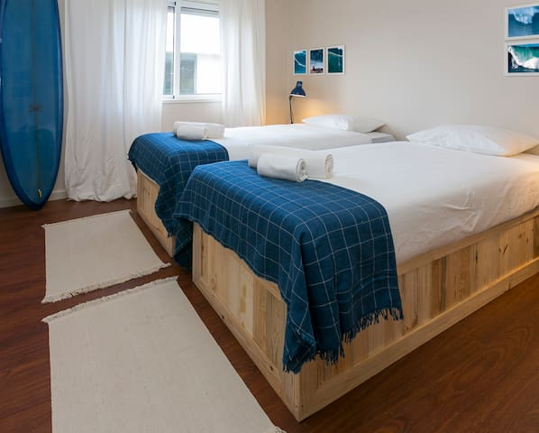 Premium Surf House in Porto- Double or Twin Room