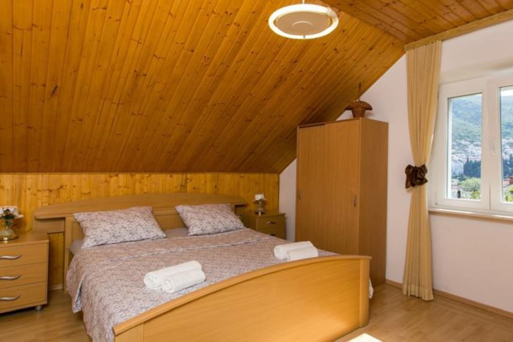 big room with double bed