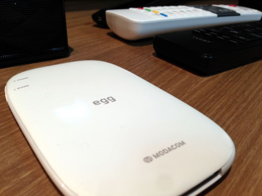 Free Portable WIFI hotspot (Wibro egg) for you during your staying to carry around so you can stay connected in any place.
