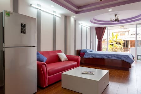 Near Ben Thanh Market - Stylish Studio Apartment
