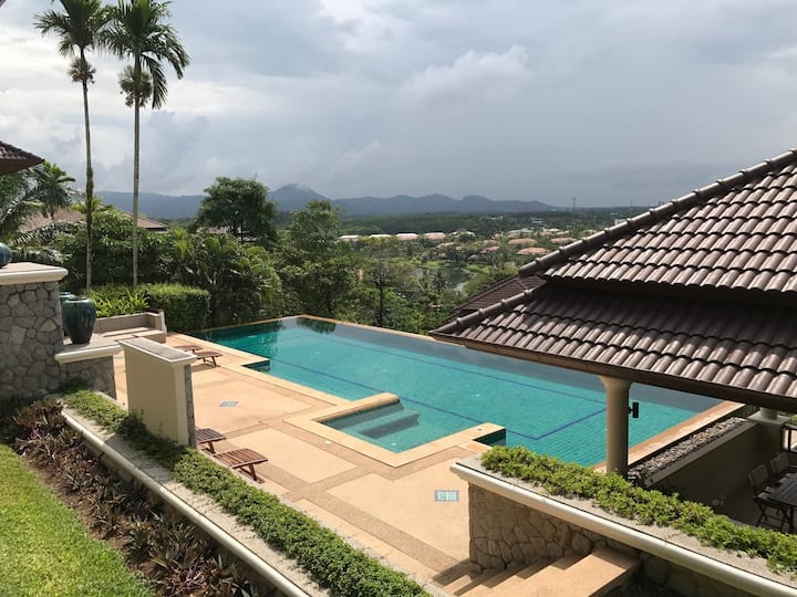 Nestled in the hills above Laguna and Layan