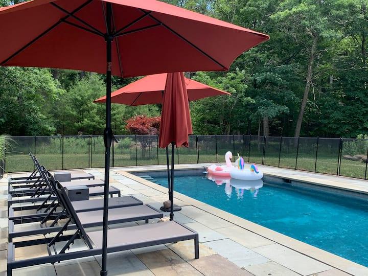 Stone Ridge Sanctuary with heated pool