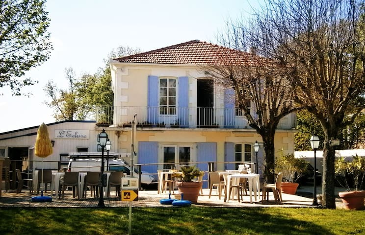 L'Ecluse Hotel & Restaurant - Saint-Fort-sur-Gironde - Bed & Breakfast